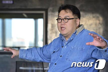 '나는 꼼수다' 진행자 김용민. © News1