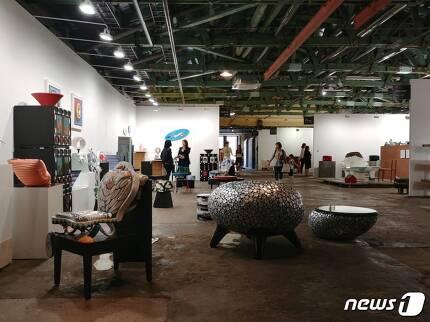 '디자인 아트부산'전. 2017.6.3/ 뉴스1 © News1 김아미 기자