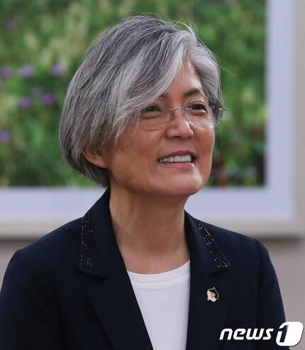 강경화 신임 외교부장관.   2017.6.7/뉴스1 © News1 허경 기자