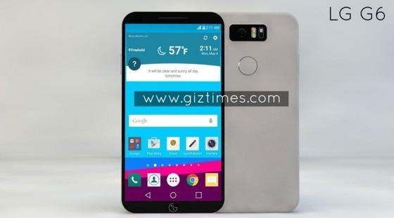 LG전자 상반기 전략폰 'G6' 예상 이미지 © News1