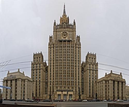 러시아 외무부 청사 [연합뉴스 자료사진]