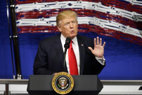 도널드 트럼프 미국 대통령. AP뉴시스