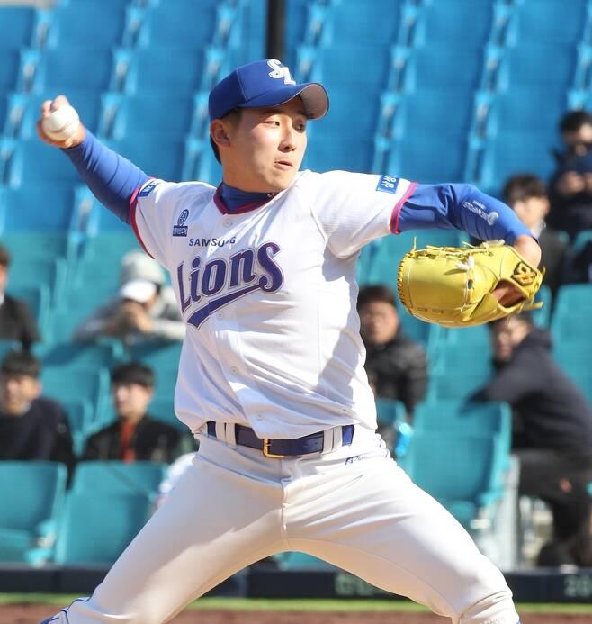 ▲ 김시현 ⓒ 삼성 라이온즈