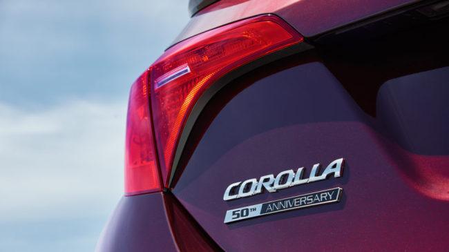 <사진>도요타가 공개한 보라색의 코롤라 50주년 모델