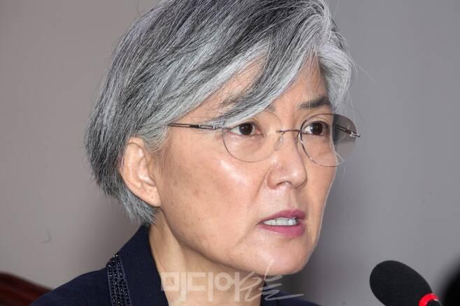 ▲ 강경화 외교부 장관 후보자 사진=이치열 기자
