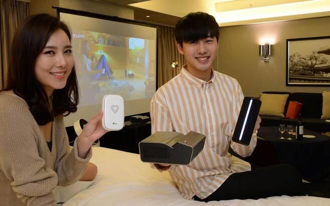 LG전자, 호텔 협업 통해 제품 체험 기회 제공
