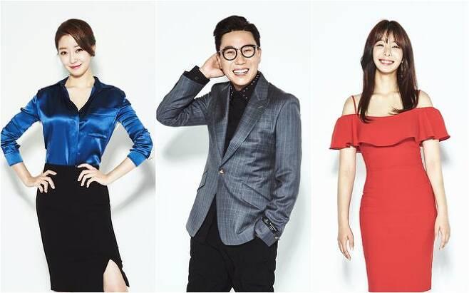'섹션TV' MC인 이재은 아나운서, 이상민, 설인아(사진=MBC)
