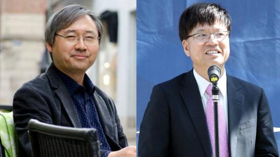 박찬운(왼쪽) 한양대 법학전문대학원 교수와 이병태 카이스트 IT경영대학 교수(사진=박찬운·이병태 교수 페이스북 화면 갈무리)