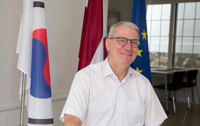 페테리스 바이바르스 주한 라트비아 대사 © 시사저널 이종현