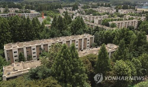 강남구 개포 주공1단지 전경 [연합뉴스 자료사진]