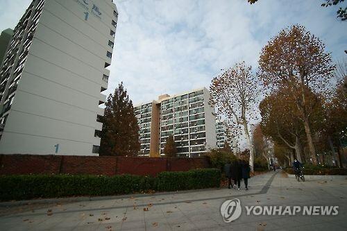 대치동 은마아파트 [연합뉴스 자료사진]