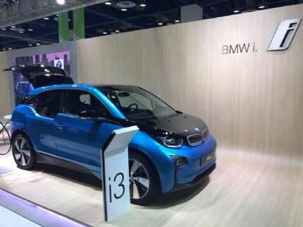 BMW i3. 최근 이 모델은 한번 충전으로 200km 이상을 주행할 수 있는 94Ah 모델로 판매되고 있다. (사진=지디넷코리아)