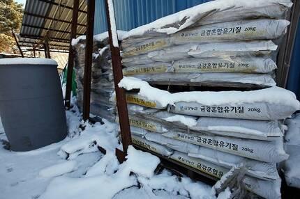▲ 장점마을 주민들이 원인으로 지목한 공장은 피마작박과 연초박 등으로 비료를 만들었다. ⓒ함께사는길(이성수)
