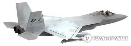 KF-X 모형도 [연합뉴스 자료사진]