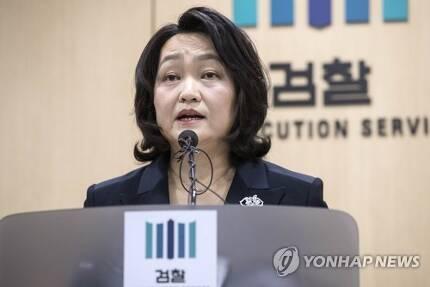 조희진 서울동부지검장 [연합뉴스 자료사진]