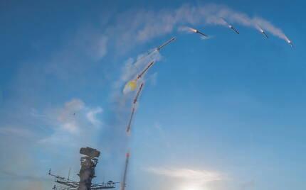 지난해 10월부터 11월까지 영국 해군 23형 호위함 아가일함은 시 셉터를 장착한 후 최종 발사 시험을 진행했다 (사진=영국해군)