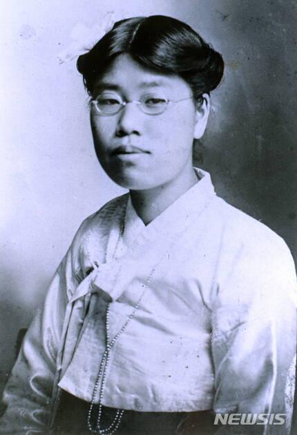 【서울=뉴시스】1909년의 김순애 모습. (사진 = 독립기념관)