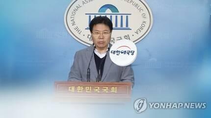 홍문종 애국당行 시사, 보수표 분산 현실로? (CG) [연합뉴스TV 제공]