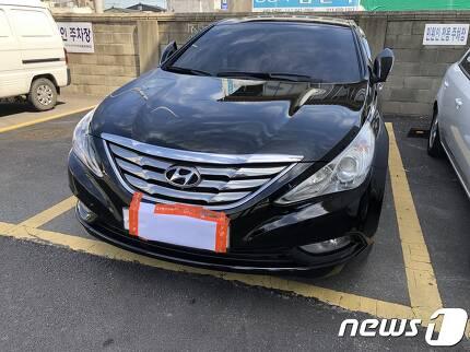 20대 지적장애 여성을 살해한 뒤 야산에 유기하는 데 쓰인 차량. 2019.9.18 /© 뉴스1