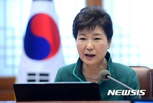 【서울=뉴시스】전신 기자 = 박근혜 대통령이 22일 청와대에서 열린 수석비서관 회의를 주재하고 있다. 2016.09.22   photo1006@newsis.com