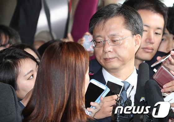 우병우 전 청와대 민정수석. © News1
