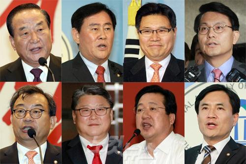 새누리당 비박계가 지목한 '최순실의 남자들' (사진=자료사진)