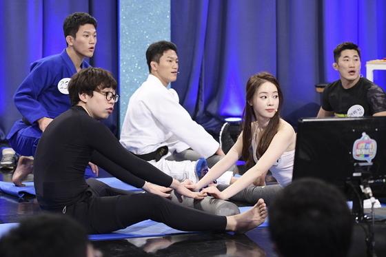 양정원이 마사지 법을 소개했다. © News1star/ MBC '마리텔'