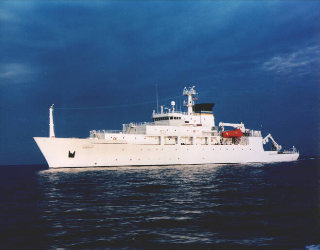 미 해군의 해양정보 수집함 보드위치호. [사진 위키피디어]