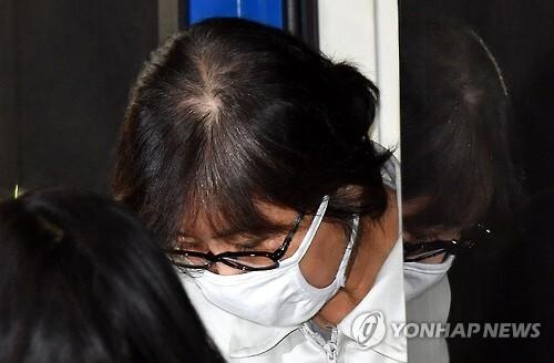 박근혜 정부의 '비선 실세'로 국정농단 의혹의 핵심 인물인 최순실(60·구속기소) 씨 [연합뉴스 자료사진]