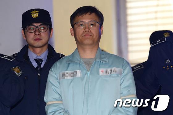 정호성 전 청와대 비서관 2017.2.10/뉴스1 © News1