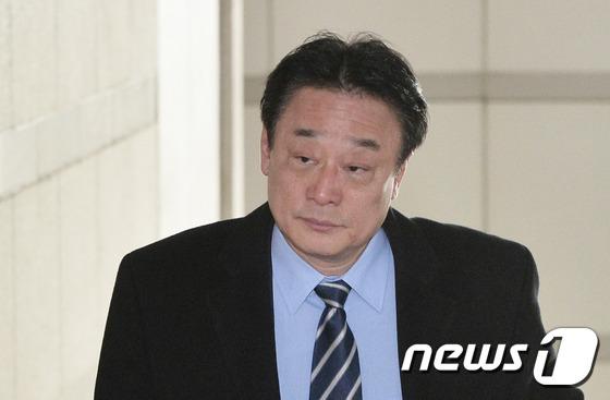 김필승 K스포츠재단 이사 2017.2.14/뉴스1 © News1 이재명 기자