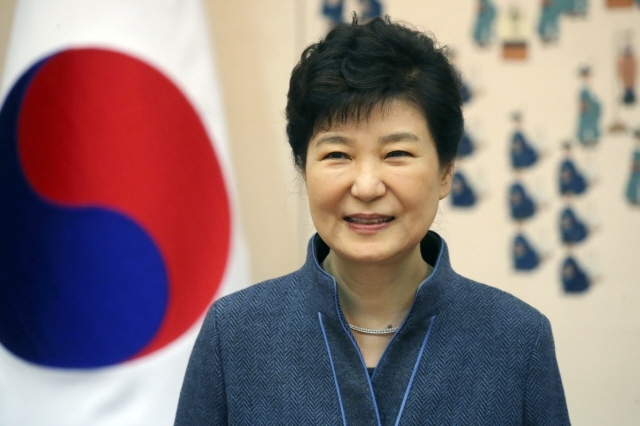 박근혜 대통령. 청와대 사진기자단