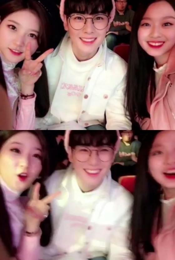 /사진=배우 김새론 인스타그램 영상 캡처