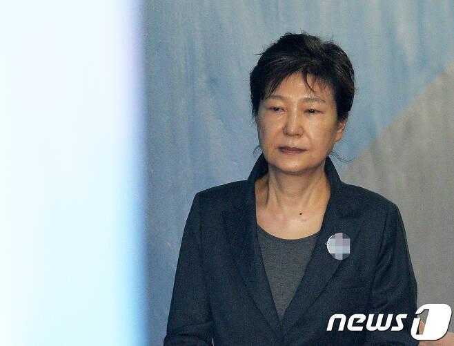 박근혜 전 대통령 © News1 이재명 기자