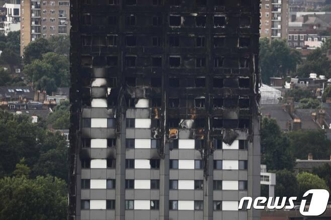 영국 런던 그렌펠 타워. © AFP=뉴스1