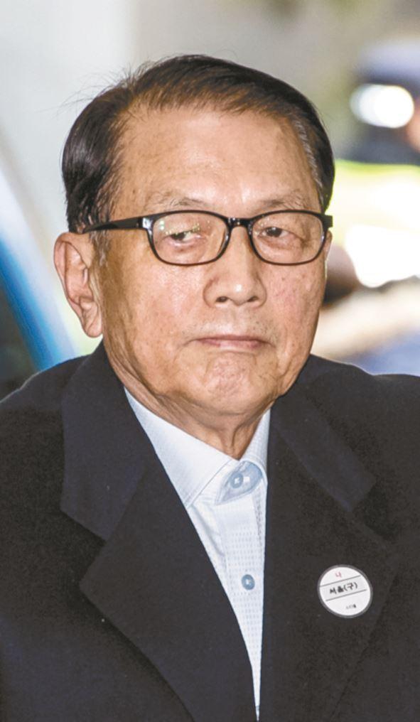 김기춘 전 청와대 비서실장. 왕태석 기자