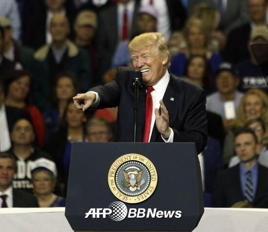 도널드 트럼프 미국 대통령/AFPBBNews=뉴스1