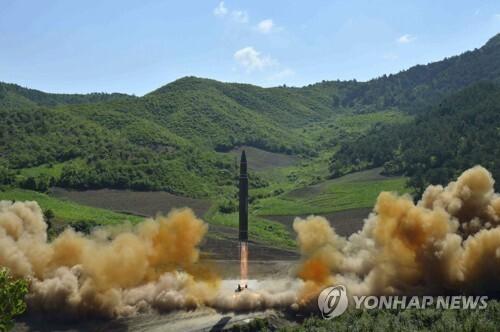 [Korean Central News Agency/Korea News Service via AP=연합뉴즈 자료사진]