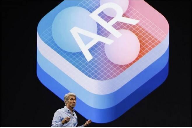 애플 증강현실(AR) 개발자도구 ARKit (애플)