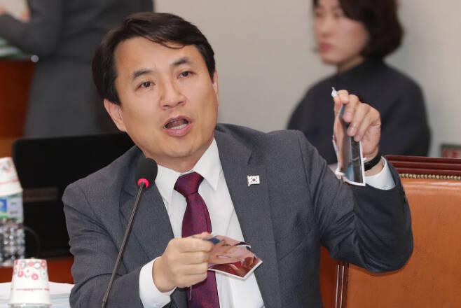 자유한국당 김진태 의원. 연합뉴스