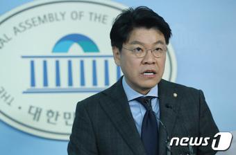 장제원 자유한국당 수석대변인.  뉴스1 © News1 박정호 기자