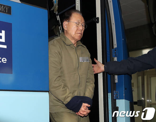 김백준 전 청와대 총무기획관. 2018.1.17/뉴스1 © News1 박세연 기자