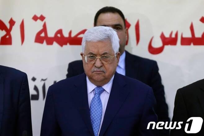 마무드 압바스 팔레스타인 자치정부 수반. © AFP=뉴스1