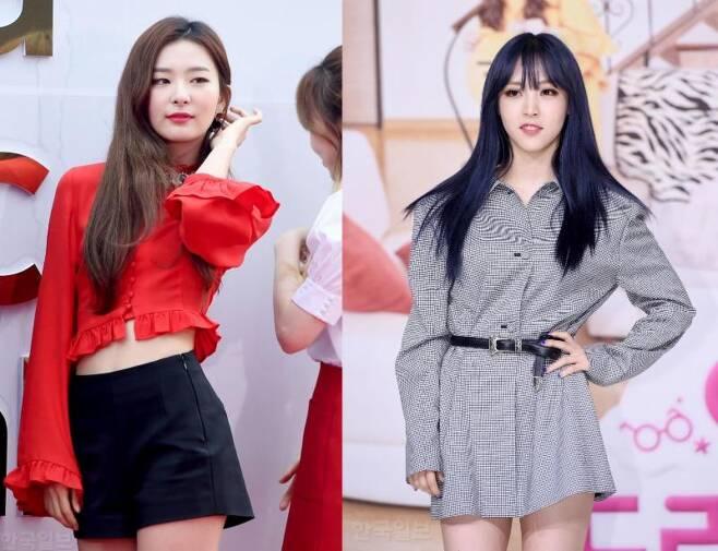 레드벨벳 슬기가 마마무 문별 솔로곡 피쳐링으로 나선다. 한국일보닷컴DB