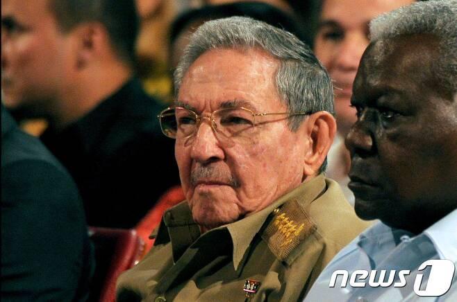 라울 카스트로 국가평의회 의장. © AFP=뉴스1