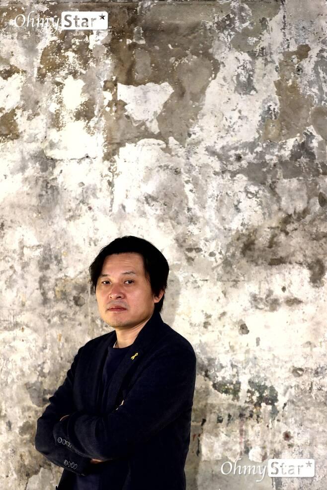 세월호 침몰 원인을 과학적으로 다룬 추적 다큐멘터리 [그날, 바다]의 김지영 감독. ⓒ이정민