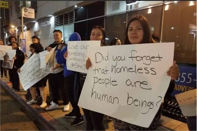 여성 노숙인 쉼터 마련을 위한 단체 #Shedoes가 한인타운에서
