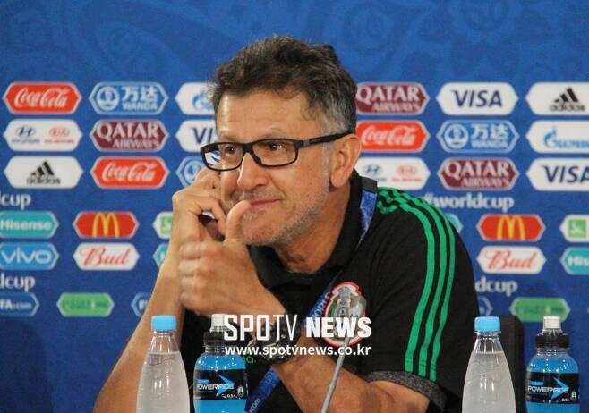 ▲ 월드컵 본선에서 인정 받기 시작한 오소리오 감독 ⓒ한준 기자