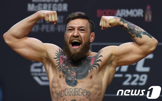 UFC의 코너 맥그리거. © AFP=News1