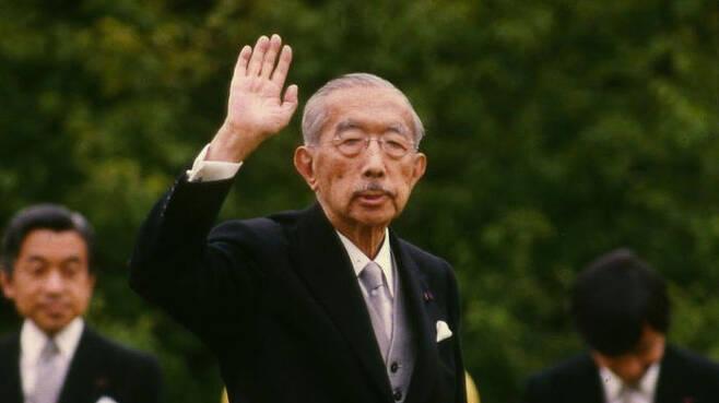 1988년 당시 히로히토 전 일왕